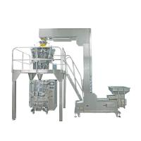 with 10 heads Ishida weigher to pack plastic chips