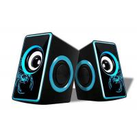 Buy cheap Small Multimedia Computer Speakers , 2.0 Speakers For Pc Nice Design product