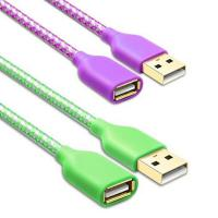 WIRES & CABLES USB2.0 AM TO AF CABLE