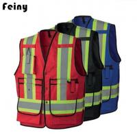 Buy cheap Poly Cotton Fire Flame Safety Reflective Vests product