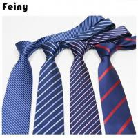 Buy cheap Customized Polyester Silk Neck Ties For Men product