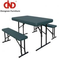 Buy cheap White Portable Folding Table and Bench Wholesale Lifetime Fordable Table Set product