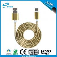 Metal Spring Data Transfer Usb Cable For IPhone 5 6 7