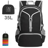 Lightweight Packable Backpack Hiking Daypack Handy Foldable Camping Outdoor School Cycling 35 Liters