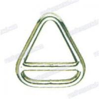 Buy cheap 201704131384Hot sale steel nickel plated double delta ring product