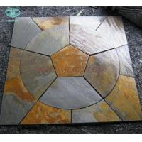 Copper/Rusty Slate Circle For paving