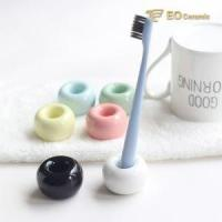 Ceramic Tooth Brush Holder Mini Ceramic Tooth Brush Holder