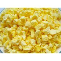 Buy cheap Nutritious Freeze Dried Fruit , Freeze Dried PineappleRaw Fruit Flavour product