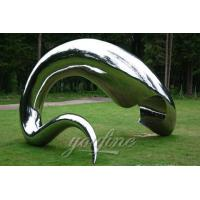 China Factory of Mirror Stainless Steel Sculpture