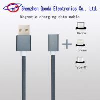 2017 New Products Magnetic Charging Data Cable with Micro iPhone Type-C Mobile Phone