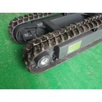 Buy cheap Carry capacity 1.5T mini rubber undercarriage chassis crawler product