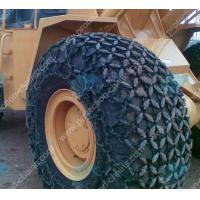 Buy cheap Alloy steel welded 11.00-20 tractor tire chains for mining product
