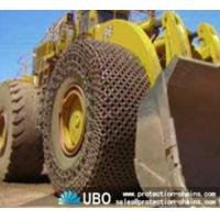 Buy cheap Tire protection chain for OTR tire used on wheel loader product