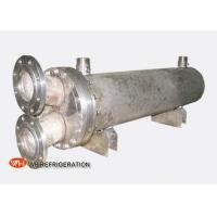 Buy cheap Dry Shell And Tube Titanium Seawater Heat Exchanger Water Cooled 10KW To 600KW product