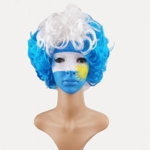 Quality Football Sport Fans Wigs for sale