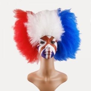 Quality Fashionable Good Quality Football Sports Fans Wigs for sale