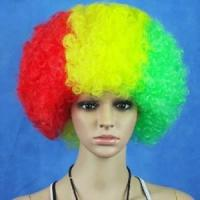 Buy cheap Hot Sale Football Fans Fun Afro Wigs product