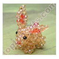 Buy cheap rondelle crystal beaded long ear habbit 3D animal GIFTS product