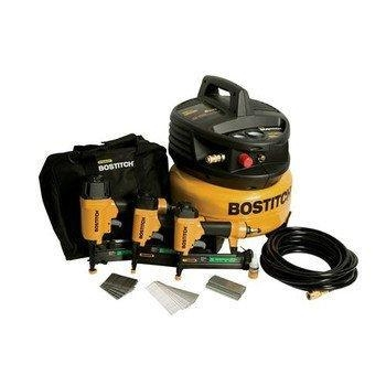 Quality Factory-Reconditioned BOSTITCH U/CPACK300 3-Tool and Compressor Combo Kit for sale