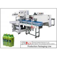 Touch Screen Control Bottle Packing Machine PE Film Shrink Sleeve Packaging Machine