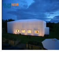 Buy cheap Colorful LED light large outdoor inflatable wedding party tent golf marquee inflatable tent product