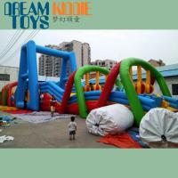 Buy cheap giant inflatable obstacle course for adult product
