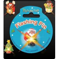 Buy cheap Christmas Flashing Pin product