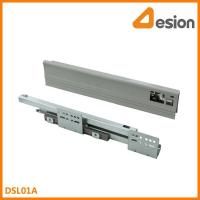 Buy cheap double wall drawer slides DSL01A Under mounting concealed slides product
