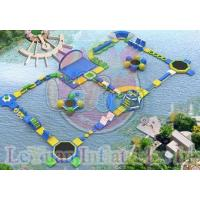 Challage Customzied Inflatable Water Toys / Large Floating Water Park