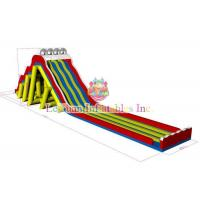 Buy cheap Customize Giant Long Water Slide Double And Quadruple Stitching Reinforcement product