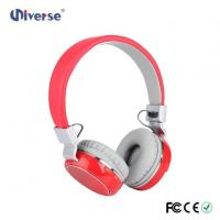 Buy cheap New Arrival Low Price Customize Wireless Stereo Headphone FM Radio Headphone With Sd Card Slot product