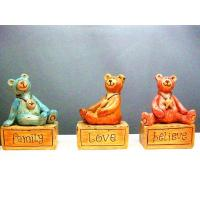 ANIMAL SERIES JSAR69157016 Polyresin bears