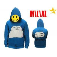 Buy cheap Hoodie Pokemon Anime Snorlax Zipper Hoodie PMHD94240 product