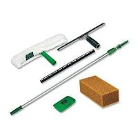 Buy cheap Unger Pro Window Cleaning Kit with 8 Foot Pole, Scrubber, Squeegee, Scraper, Sponge (PWK00) product