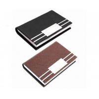 Buy cheap Card Holder PU Leather ID Card Pocket Case Box Keeper product