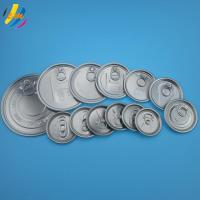Composite paper canister Aluminum easy open lid