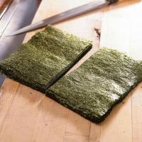 Buy cheap Grade A Sushi Nori Sheets with Half Cut Size for Sushi Roll product