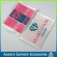 Buy cheap Professional Clothing Satin Sew in Woven Label for Clothing product