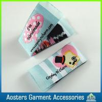Buy cheap Custom Design Fabric Apparel Embroidered Clothing Fashion Woven Labels from wholesalers