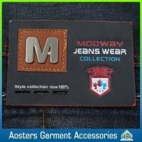 Buy cheap Hot Sale Wholesale Leather Patch Label for Garment product