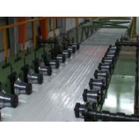 steel shutter door forming PU panel line