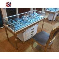 Buy cheap Jewelry Counter Cabinet with Storage at Bottom product