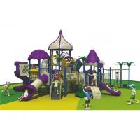Buy cheap Outdoor Park Equipment Commercial Playground Slides from wholesalers