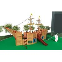 Buy cheap Outdoor Park Equipment Wooden Outdoor Playground from wholesalers