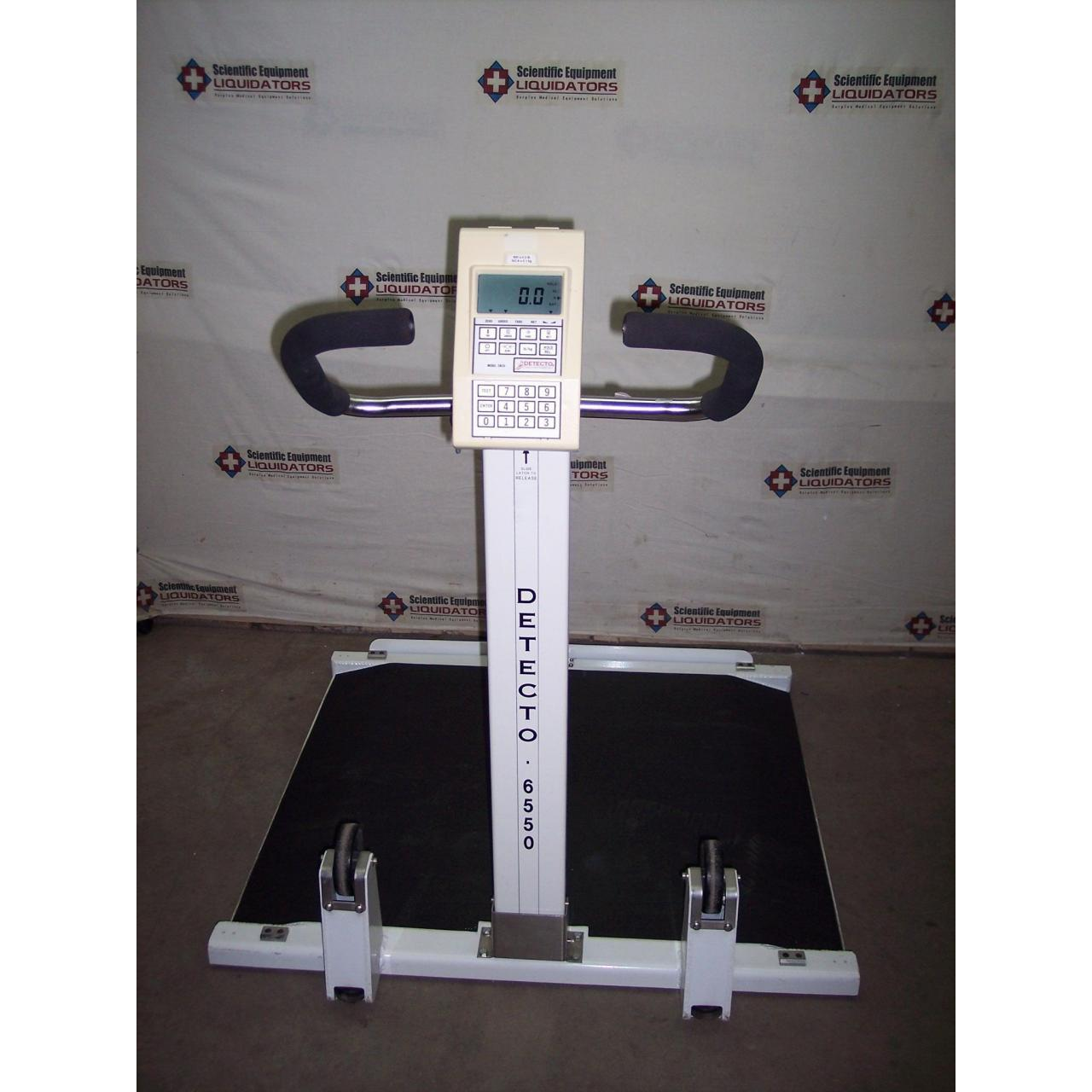 Buy cheap Detecto 6550 / CN20 Wheelchair Scale from wholesalers