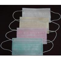 Non-woven product Non-woven face mask with earloop