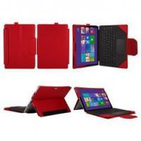Buy cheap Stand and Type case cover for Microsoft Surface Pro 4 - Red product