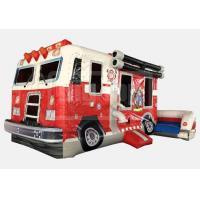 Buy cheap Inflatables  Fire Truck Combo product