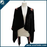 Buy cheap New Stylish Burnout Velvet Knitted Scarves And Wrap product