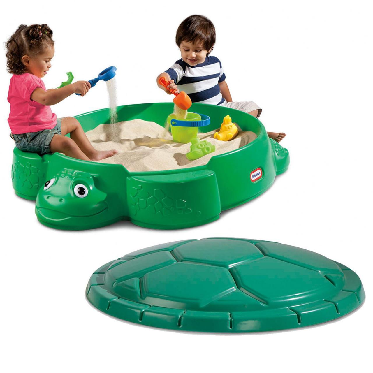 Sand and Water Play Turtle Sandbox